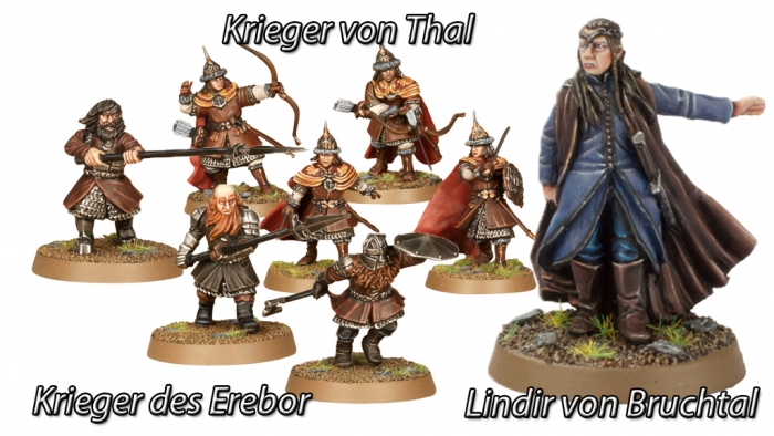 Hobbit-Miniaturen