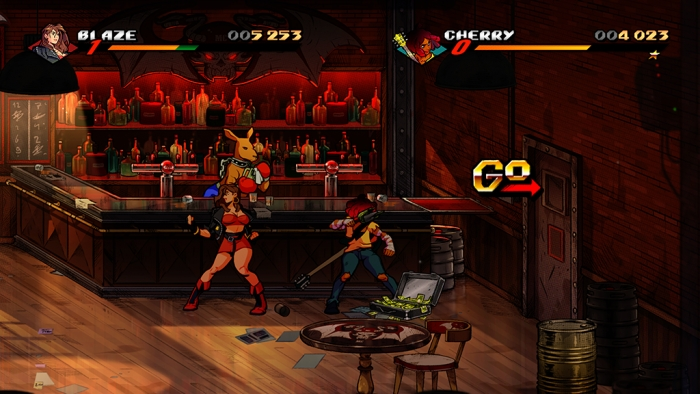 Screenshot aus Streets of Rage 4