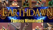 "Miniaturen für das Fantasy-RPG ""Earthdawn"""