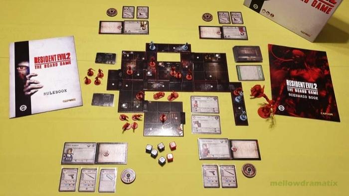 """""""Resident Evil 2: The Board Game"""" – Survival-Horror-Brettspiel"""