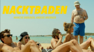 """Nacktbaden – Manche bräunen, andere brennen"" von A. Papadimitropoulos"